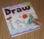 Funky Things to Draw Hard Cover Spiral Book in Oswego, Illinois