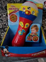 Disney minnie/Mickey mouse microphone new in Naperville, Illinois