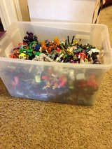 tub of action figures in The Woodlands, Texas