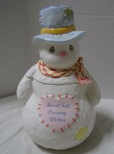 NEW Precious Moments Snowman Cookie Jar in Kingwood, Texas