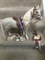 "22"" Horse with saddles in Plainfield, Illinois"