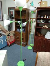 2 Lime Green Floor Lamps in Oswego, Illinois