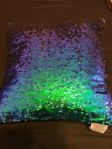 Sequined Throw Pillow in Plainfield, Illinois