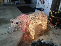 Light Up Polar Bear in Naperville, Illinois