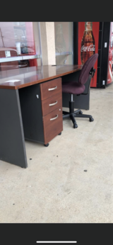 Desk, Chair and Filing Cabinet in Fort Leonard Wood, Missouri