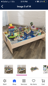 Paw patrol activity center train table set in Conroe, Texas