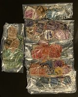 bags of old United States stamps in Bolingbrook, Illinois
