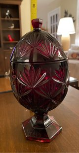 Egg-Shaped Covered Dish in St. Charles, Illinois