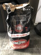 75% full bag of charcoal in Ramstein, Germany