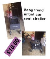 Baby trend infant stroller in Naperville, Illinois