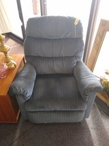 Blue Recliner in Naperville, Illinois