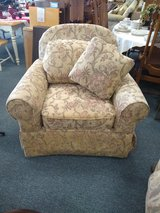 Taupe Muted Print Chair in Oswego, Illinois