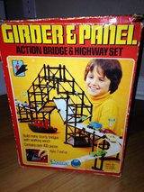 vintage 70s Kenner Girder and Panel bridge & highway set in Spring, Texas