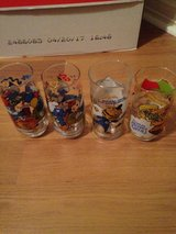 vintage 80s collectible glasses Smurfs McDonalds Muppets in The Woodlands, Texas