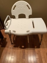 Heavy Duty Bench Transfer Shower Chair by Invacare in Naperville, Illinois