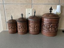 4 canisters in Kingwood, Texas