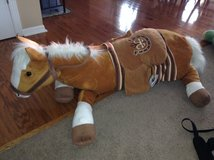 Big Stuffed Horse in Westmont, Illinois