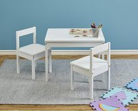 Solid Wood Kiddie Table Set with Two Chairs - New! in Bolingbrook, Illinois