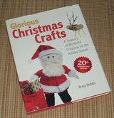 Glorious Christmas Crafts A Treasury of Wonderful Creations for the Holiday Season Hard Cover Book in Plainfield, Illinois