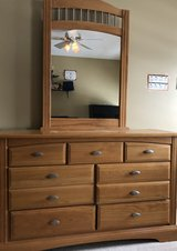 Dresser with mirror in Plainfield, Illinois