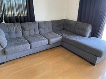 Living room couch 4520017 Ashley Furniture Maier - Charcoal Raf Corner Chaise in Okinawa, Japan