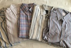 5 Men's Large Button Down Shirts in Plainfield, Illinois