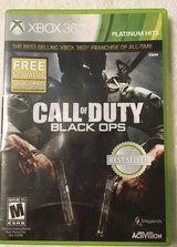 XBox360 Call of Duty Black Ops in Algonquin, Illinois