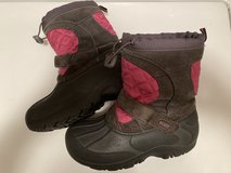 Girls snow boots (size 2) in Plainfield, Illinois