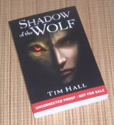 RARE First Edition Shadow of the Wolf Not for Sale Uncorrected Proof Book in Joliet, Illinois