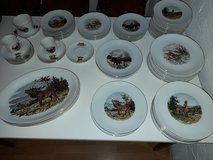 Porcelain with wild motives 68 pieces - Brand: Wunsiedel, Bavaria in Spangdahlem, Germany