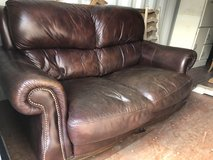 2 Seat Leather Sofa in Lakenheath, UK