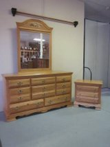 Made in the U.S.A - Dresser, mirror, night stand made in America in Bellaire, Texas