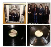 ORIGINAL BEATLES AGAIN VINYL RECORD FRAMED in Schaumburg, Illinois