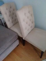 2 upholstered chairs; can deliver in Elgin, Illinois
