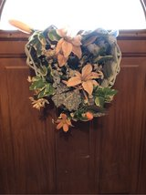 heart shaped wreath in Glendale Heights, Illinois