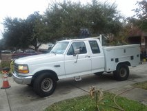 Make some Money. Vintage,  F250, XCab Utility Bed in Kingwood, Texas