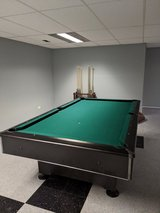 Pool table in Plainfield, Illinois