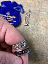 Sterling silver jewelry ring and cartouche in Fort Benning, Georgia