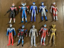 Ultraman, Dragon all and other random figures in Okinawa, Japan