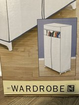 """New in Box! 36"""" Wardrobe Portable Closet Covered Clothing Rack in Naperville, Illinois"""