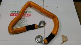 Tow strap for vehicle in Okinawa, Japan