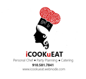 Personal Chef, Food Prep, Catering in Camp Lejeune, North Carolina
