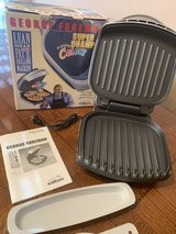 George Foreman Indoor grill and bun warmer 110V in Ramstein, Germany