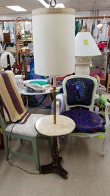Marble, Wood & Brass Table Lamp #891-81 in Camp Lejeune, North Carolina