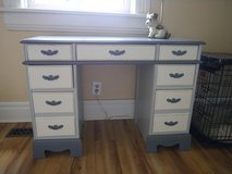 Vintage Solid Wood Painted Desk in Fort Campbell, Kentucky