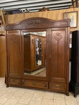 beautiful Art Nouveau armoire in Spangdahlem, Germany