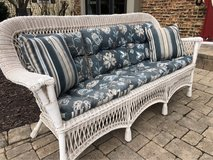 All Weather Wicker Sofa in Plainfield, Illinois