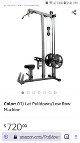 Lat Pull Down in Yucca Valley, California