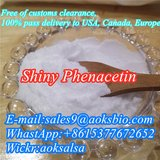 Shiny phenacetin supplier cas 62-44-2 phencaetin manufacturer 100% pass customs in Bolingbrook, Illinois