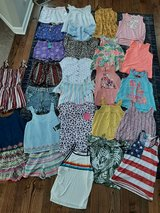 Girls size 10/12 great conditon summer lot some new tags 26 pieces brand names in Morris, Illinois